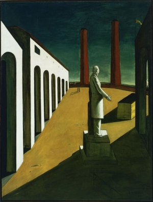 Giorgio De Chirico Gün Soyut Yağlı Boya Klasik Sanat Canvas Tablo