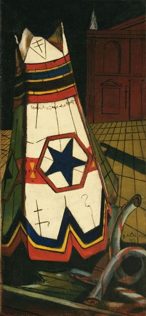 Giorgio De Chirico Soyut Yağlı Boya Klasik Sanat Canvas Tablo