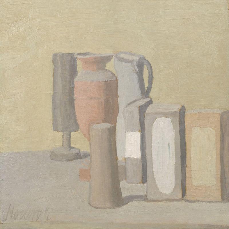 Giorgio Morandi Hayat Sitili Soyut Yağlı Boya Klasik Sanat Canvas Tablo