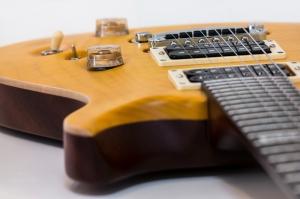 Gitar Fotoğraf Kanvas Tablo