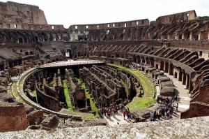 Gladyatör Oyunları Arenası Dünyaca Ünlü Şehirler Kanvas Tablo