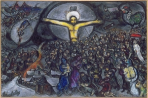 Göç Marc Chagall The Exodus Klasik Sanat Kanvas Tablo