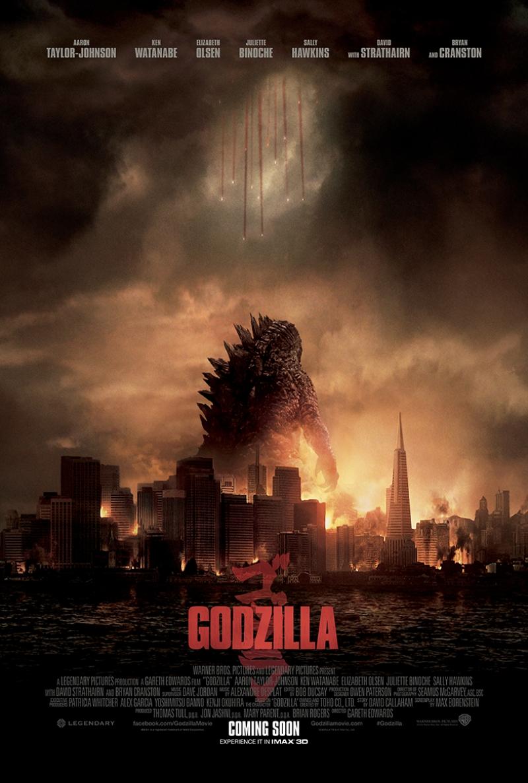 Godzilla Afiş Kanvas Tablo 2