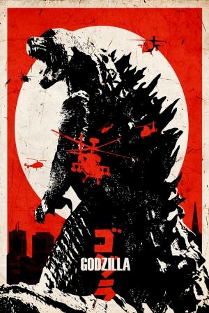 Godzilla Afiş Kanvas Tablo