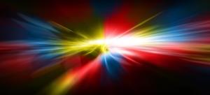 Gökkuşağı Renkleri Dijital ve Fantastik Kanvas Tablo