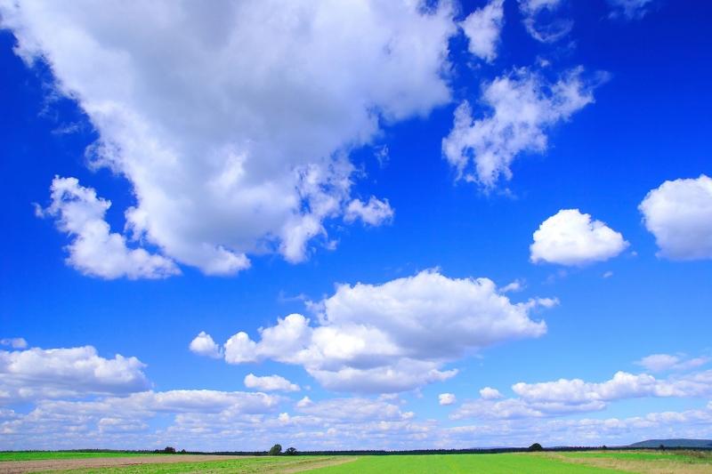 Gökyüzü Bulut Manzarası 1 Doğa Manzaraları Kanvas Tablo