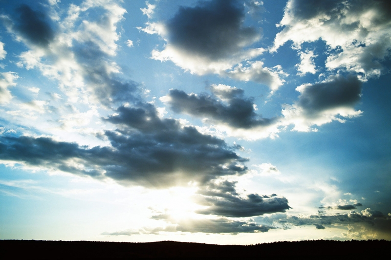 Gökyüzü Bulut Manzarası 3 Doğa Manzaraları Kanvas Tablo