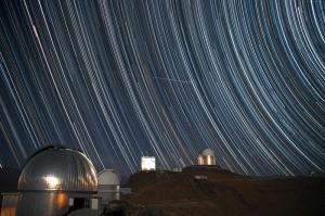 Gökyüzü Gözlemevi Yıldızlar Dünya & Uzay Kanvas Tablo