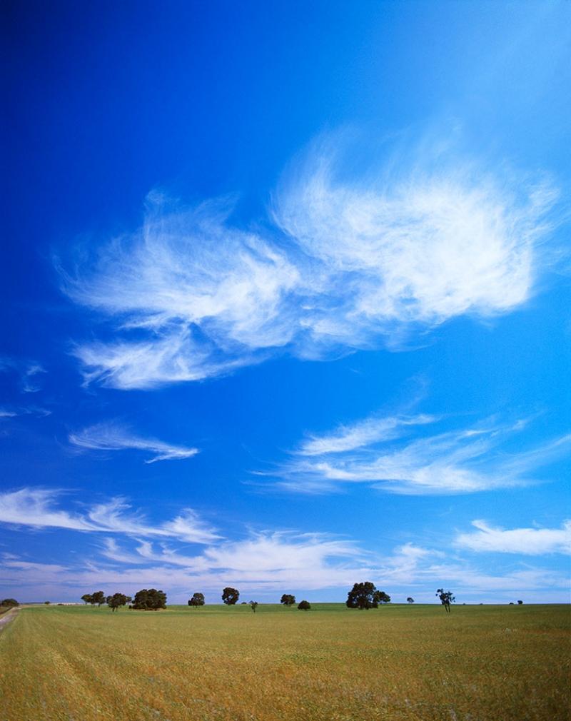 Gökyüzü ve Bulut Doğa Manzaraları Kanvas Tablo