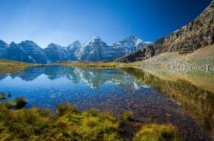Göl Dağ Orman 3 Berrak Su Güzel Doğa Manzaraları Kanvas Tablo