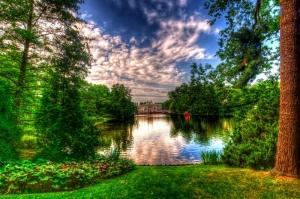 Göl Dağ Orman 9 Berrak Su Güzel Doğa Manzaraları Kanvas Tablo