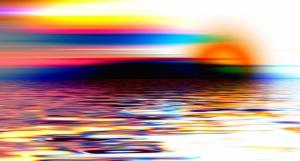 Göl Doğa Manzaraları Kanvas Tablo