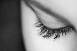 Göz Siyah Beyaz Fotoğraf Kanvas Tablo