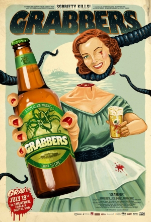 Grabbers Poster Retro & Motto Kanvas Tablo