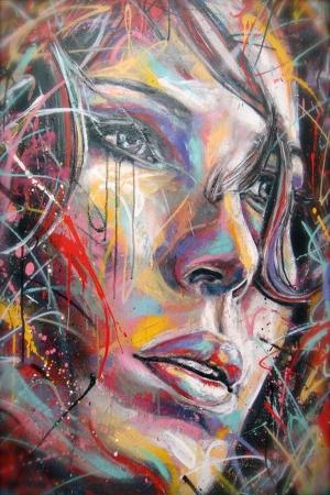 Grafiti Klasik Sanat Kanvas Tablo