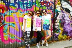 Grafiti Popüler Kültür Kanvas Tablo