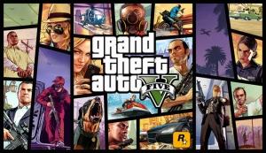 Grand Theft Auto V Oyun Popüler Kültür Kanvas Tablo