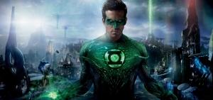 Green Lantern Süper Kahramanlar Kanvas Tablo
