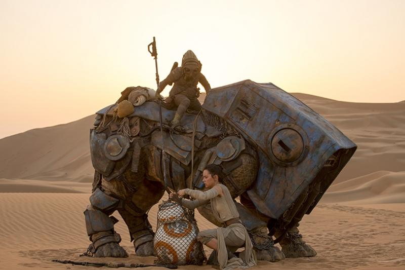 Güç Uyanıyor Star Wars Kanvas Tablo