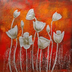 Güller 3, Dekoratif Kanvas Tablo