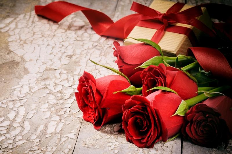 Güller 6 Aşk & Sevgi Kanvas Tablo