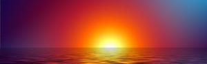 Gün Batımı 2 Doğa Manzaraları Kanvas Tablo