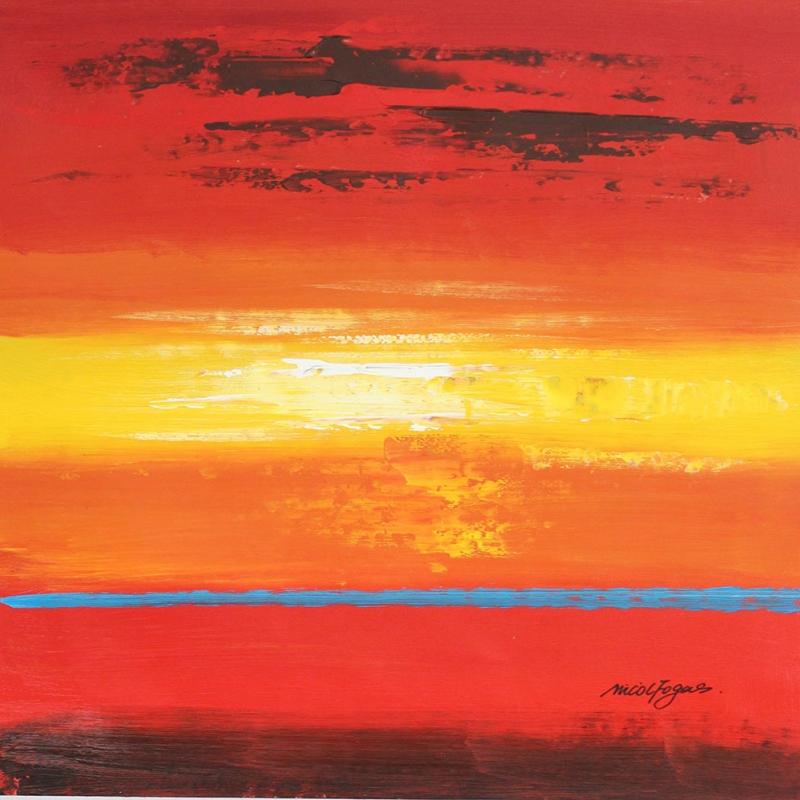 Gün Batımı 2, Şafak Manzaraları Dekoratif Kanvas Tablo