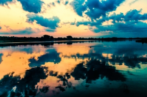 Gün Batımı 4 Doğa Manzaraları Kanvas Tablo