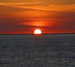 Gün Batımı Sahil 1 Doğa Manzaraları Kanvas Tablo