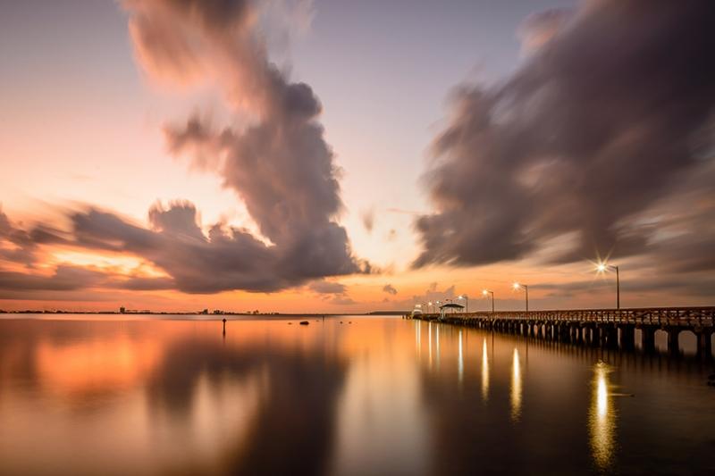 Gün Batımı ve Deniz Doğa Manzaraları Kanvas Tablo