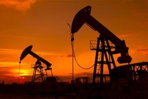 Gün Batımı ve Petrol Fotoğraf Kanvas Tablo