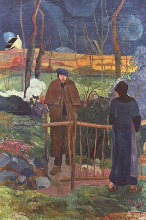 Günaydın Bay Gauguin Guten Morgen Herr Gauguin Paul Gauguin Reproduksiyon Kanvas Tablo