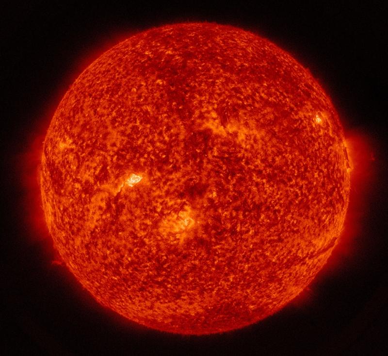 Güneş Dünya & Uzay Kanvas Tablo