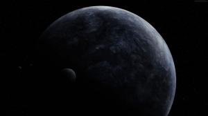 Güneş Ötesi Gezegen Dünya & Uzay Kanvas Tablo