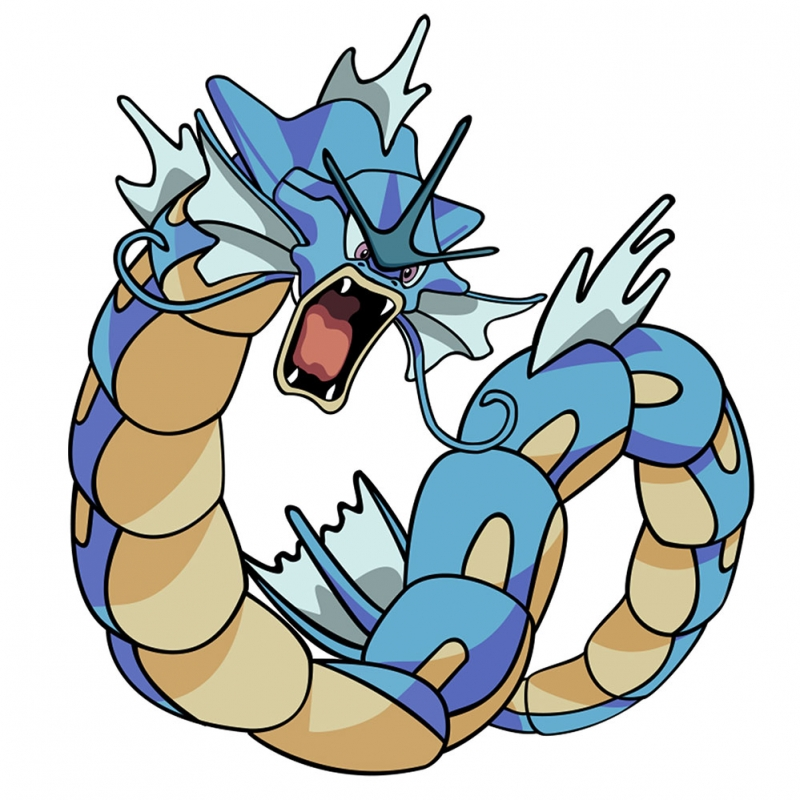 Gyarados Pokemon Kanvas Tablo