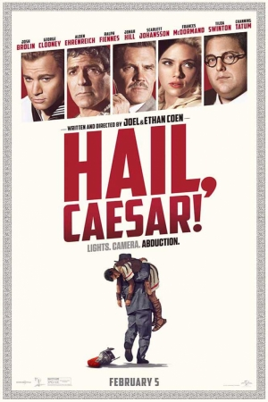 Hail Caesar Film Afişi Sinema Kanvas Tablo
