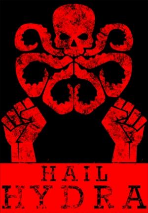 Hail Hydra Marvel Popüler Kültür Kanvas Tablo