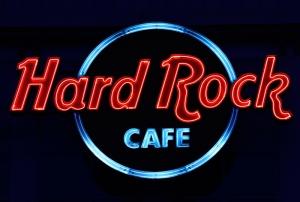 Hard Rock Cafe Popüler Kültür Kanvas Tablo