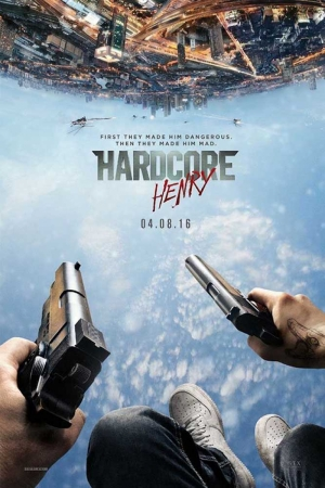 Hardcore Henry-2015 Film Afişi Sinema Kanvas Tablo