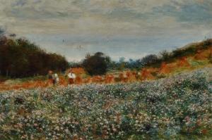 Hasat, Pierre August Renoir La Moisson Klasik Sanat Kanvas Tablo