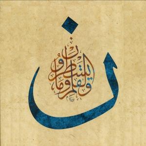Hat Sanatı-8-İslami, Dini Kanvas Tablolar