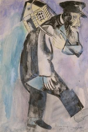 Hatıra Marc Chagall Klasik Sanat Kanvas Tablo