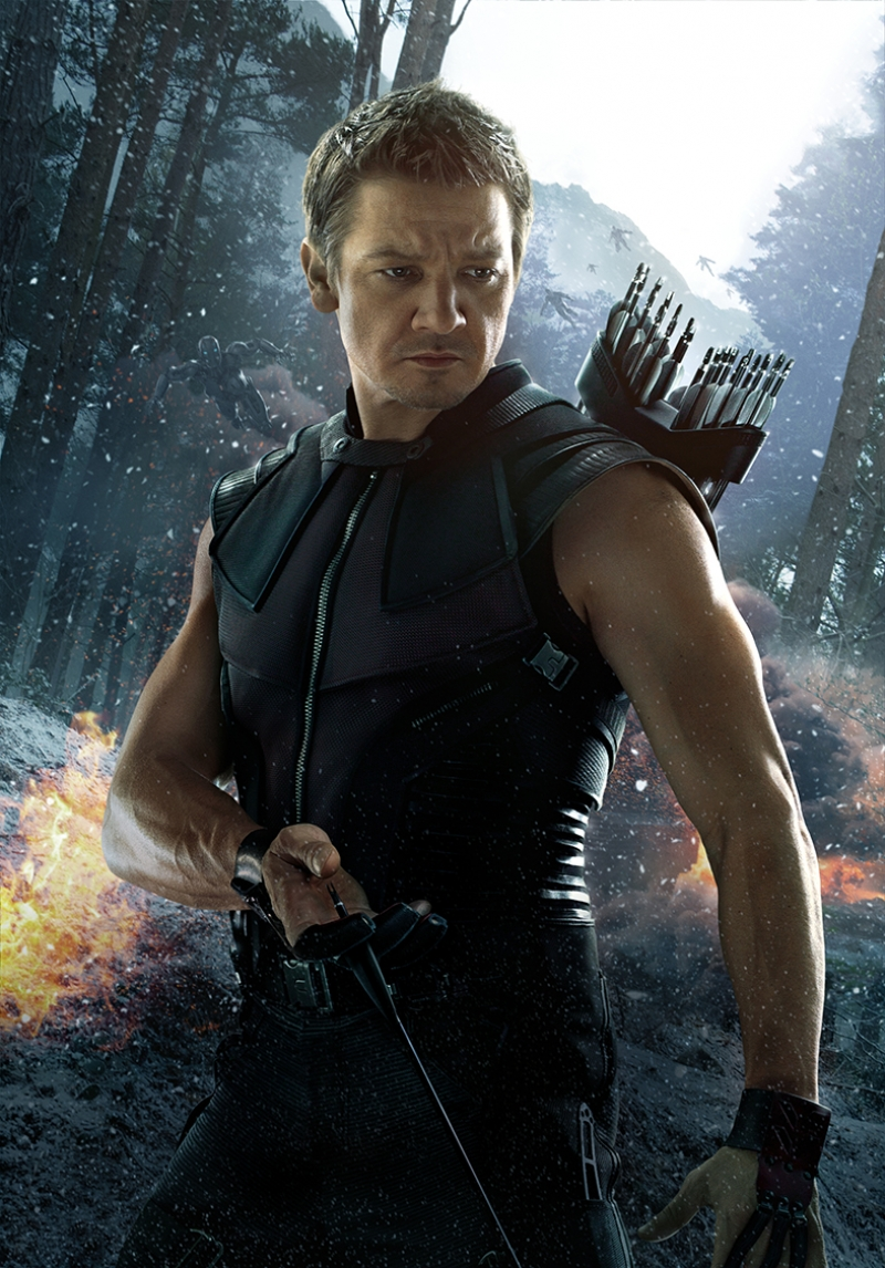 Hawkeye Şahingöz Avengers Marvel Kanvas Tablo