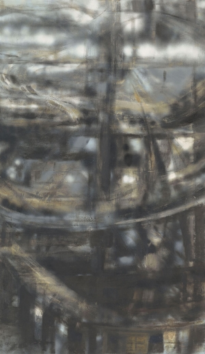 Hedda Sterne Newyork Soyut Yağlı Boya Klasik Sanat Canvas Tablo
