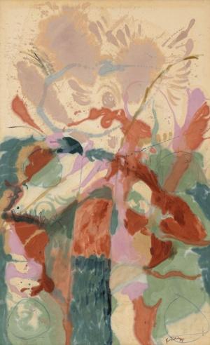 Helen Frankenthaler Soyut Yağlı Boya Klasik Sanat Canvas Tablo