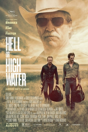 Hell Or High Water Film Afişi Sinema Kanvas Tablo