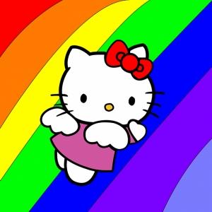 Hello Kitty Bebek & Çocuk Dünyası Kanvas Tablo