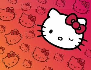 Hello Kitty Popüler Kültür Kanvas Tablo