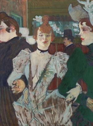 Henri De Toulouse Yağlı Boya Klasik Sanat Canvas Tablo