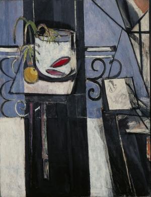 Henri Matisse Altin Balik Palet Yağlı Boya Klasik Sanat Canvas Tablo